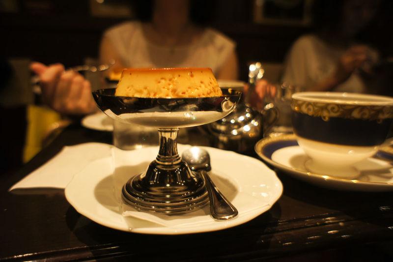 Table Food City Ato Matsuri Gion Matsuri Nex5 Day Pudding Coffee Indoors