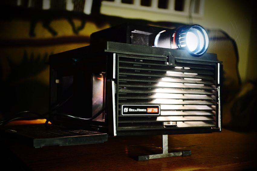 Lieblingsteil Bell & Howell Slide Projector Memories Dusty