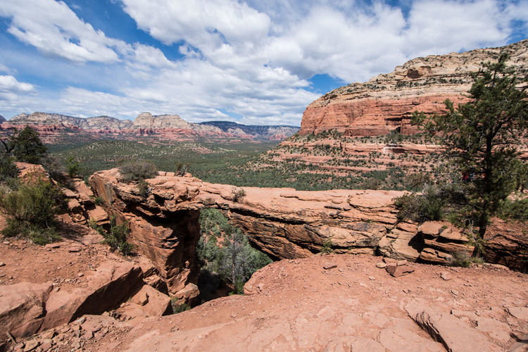 Devil's Bridge Arid Climate Arizona The Great Outdoors - 2016 EyeEm Awards Cliff Cloud Cloud - Sky Devilsbridge Eroded Extreme Terrain Geology Landscape Mountain Nature Non-urban Scene Physical Geography Remote Rock Rock - Object Rock Formation Scenics Sky Tourism Tranquil Scene Tranquility Travel Destinations