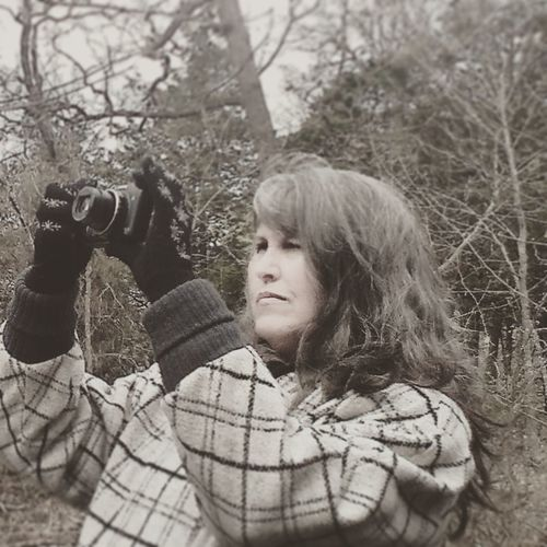 My Lovely Wife - the most Precious and Priceless Treasure of all. Beautiful Woman Camera Canon Gloves Streamzoofamily Ozark Mountains Trees Show Me State Feel The Journey