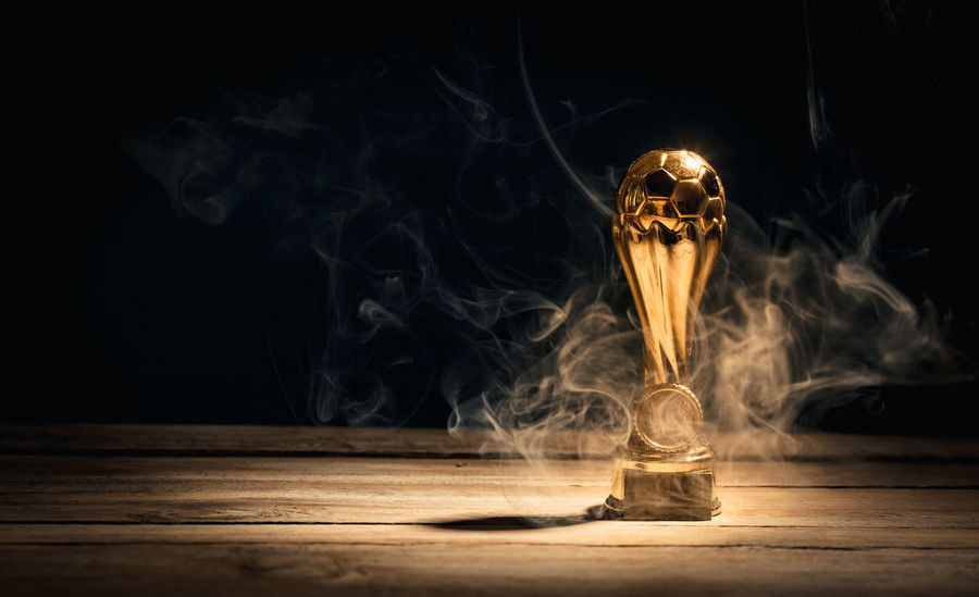 Achievement Awards First Hot Leader Smoke Smoking Trophy Waiting Burning Competition Cup Distant Fire - Natural Phenomenon Flame Heat - Temperature Illuminated Leadership Mist Reward Sports Table Winner