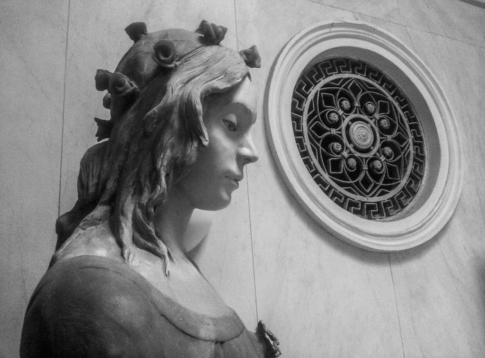 Woman Portrait Photography Sicily, Italy EyeEm Best Shots Streetphotography adventures in the city Black Background The Great Outdoors - 2018 EyeEm Awards Close-up Mythology Historic Sculpture Fictional Character Goddess