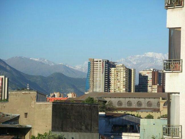 Santiago De Chile City Cityscapes