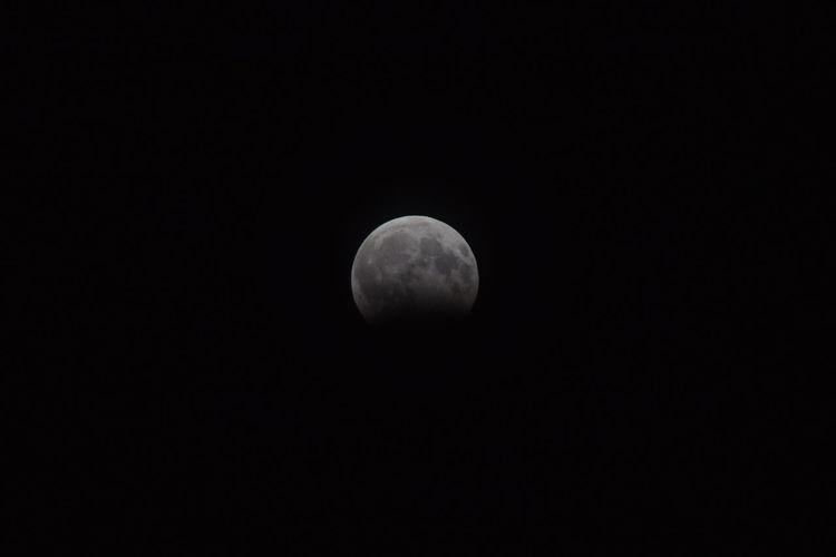 My Click Nikon D3300 Lunar Eclipse Full Moon Moon Surface Moon Astronomy