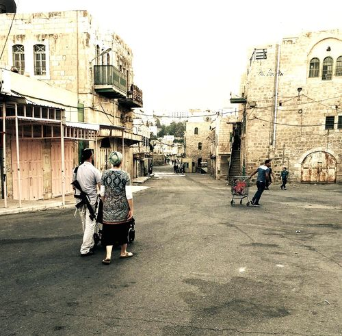 Quotidianità in tempi di intifada Landscape Palestine