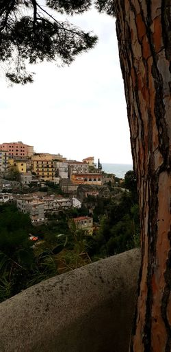 Old village on a slope Amalfi Coast Old Buildings City Sea Beach House Sky Building Exterior Horizon Over Water Architecture Landscape Residential District Town Settlement Residential Structure Residential Building Housing Settlement Place Row House TOWNSCAPE Tiled Roof  Coastline Rooftop Coast Cliff