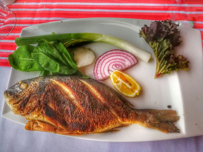 Eat Fish Food Food And Drink Freshness Lemon Meat No People Ready-to-eat