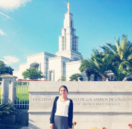 Monterrey Templo ♡♡ That's Me Enjoying Life Enjoing The View Love It Sud Lds Temples Lds