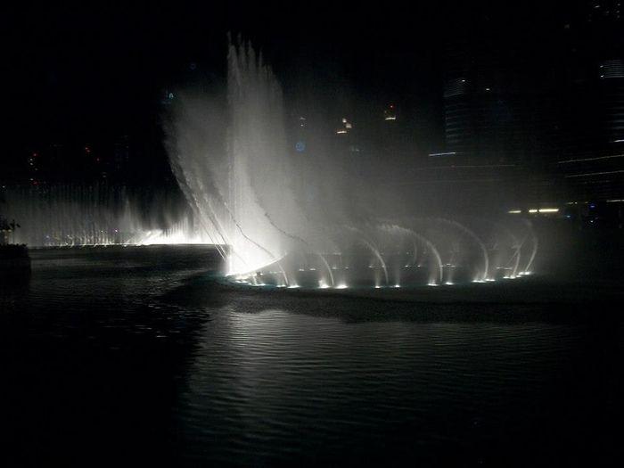 Light Water Show Illuminated Mechi Renee Motion Night Water Water Fountains