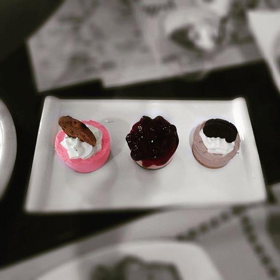 The Triple Cheesecake. 🍰🍴😁😍👍👌Sweettreat Sweetdelight Gastronomía Tastebuds Lateafternooninsanity