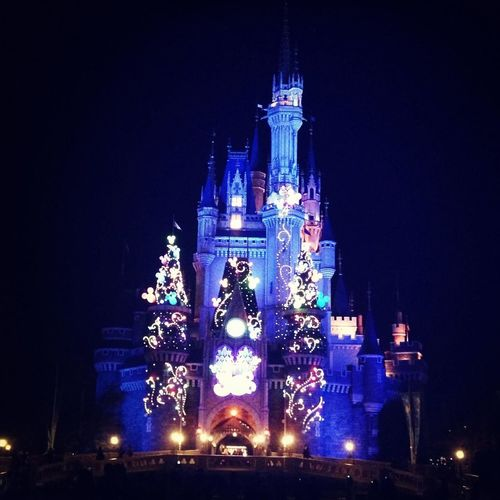 Night Beautiful Castle