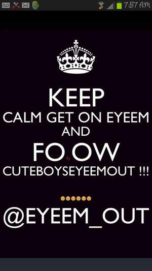 Go Follow CuteBoysEyeEmOut! Hurry!