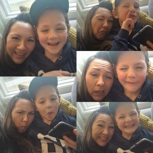Selfie Son Funnyfaces Myboy