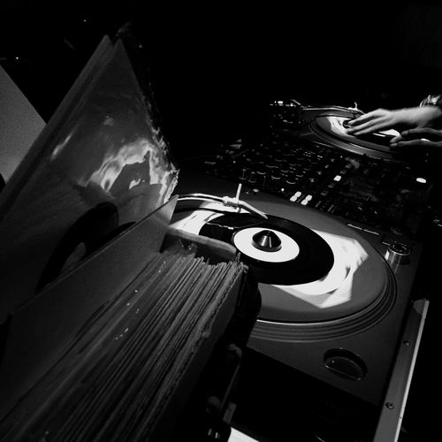 BLACK CREAM Dj Vinyl