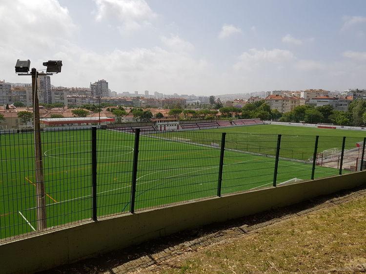 Football Field No People Outdoors Sky Cloud - Sky Footballfield Field