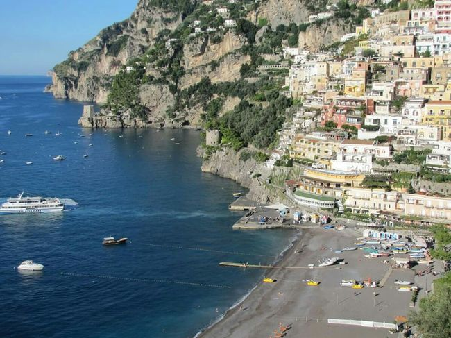 Heaven Positano, Italy Amalfi Coast Boatinglife Tyrrenian Sea, Italy Beach Fishing Village
