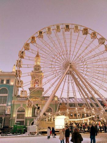 Arts Culture And Entertainment Amusement Park Leisure Activity Ferris Wheel Fun Amusement Park Ride Group Of People
