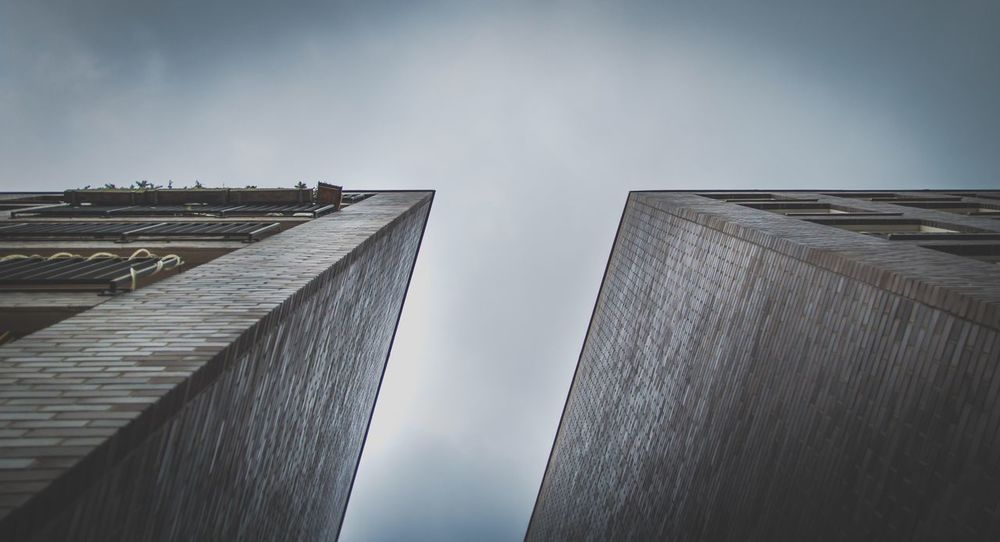 Architecture Built Structure Building Exterior Low Angle View Outdoors Sky Day No People Skyscraper City