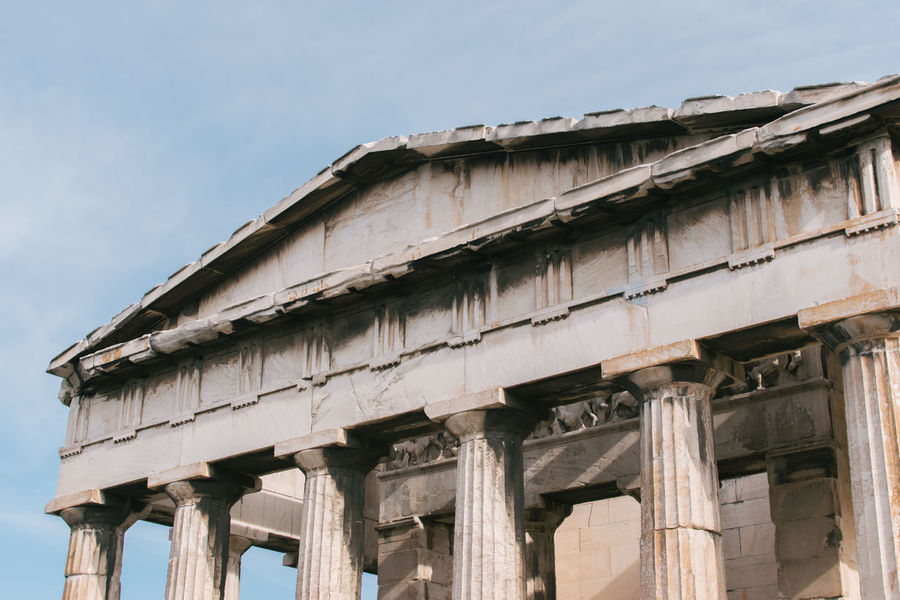 Abandoned Acropolis Architecture Athens Athens, Greece Building Exterior Built Structure Day Greece No People Outdoors Travel Travel Destinations Travel Photography