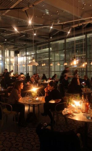 Illuminated Restaurant Food And Drink Sitting Indoors  Men Leisure Activity Women Social Gathering People Night Nightlife Adult Togetherness Adults Only Large Group Of People