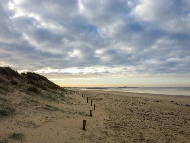 Tronoan beach, Finistère, Brittany, France Beach Cloud - Sky Dune Landscape Nature No People Sand Scenics Sea Sky