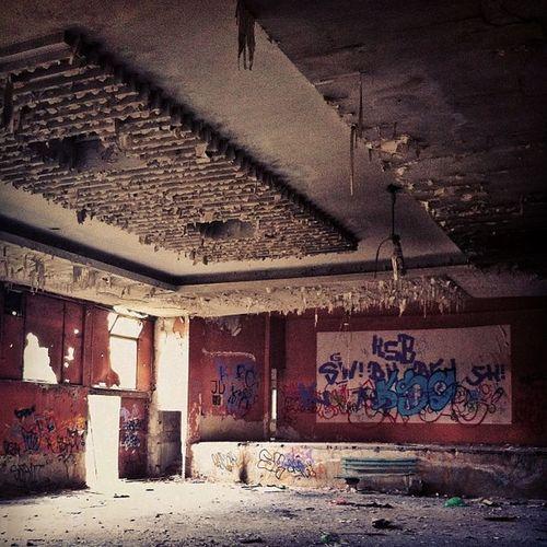 бившето кино на ул. младежка пловдив Abandoned Ruined Oldbuilding