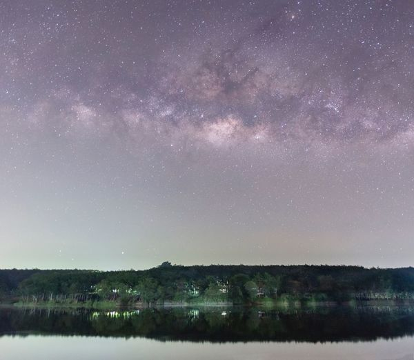 Milky way Star - Space Night Astronomy Space Scenics - Nature Beauty In Nature My Best Travel Photo Galaxy Sky Nature No People Water Environment Tranquility Star Field Star Constellation Landscape Tranquil Scene Land Science