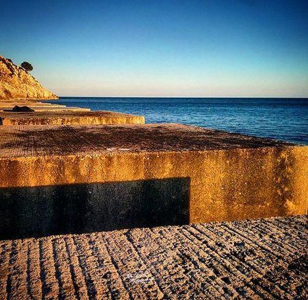 Salento Mare Sea Cielo Sky Tramonto Puglia Italia Italy Castro Castromarina