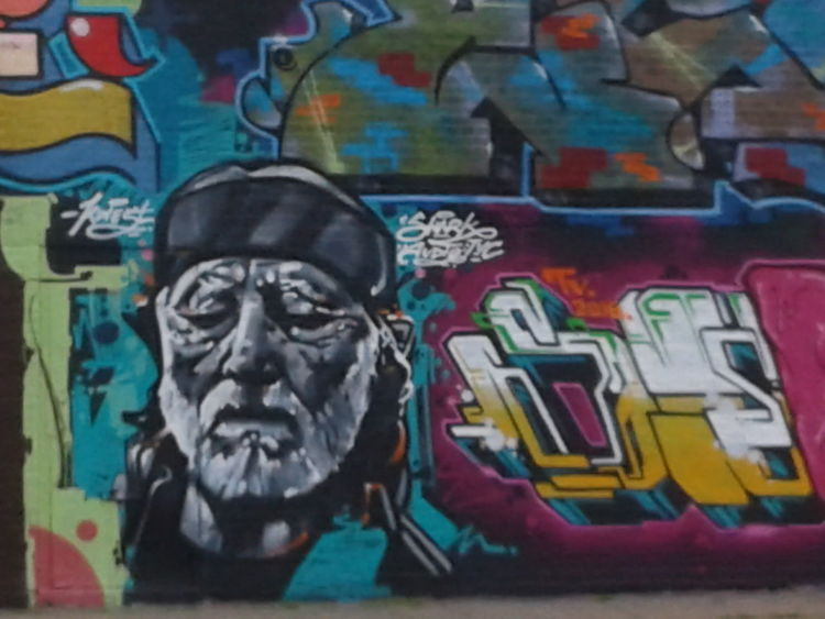 EyeEmNewHere Dallas Texas Willie Nelson Graffiti Street Art/Graffiti Downtown Outdoor No People