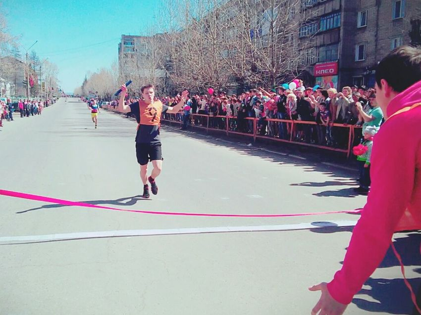 Run Marathon May 9 Faster Higher Stronger Victory One