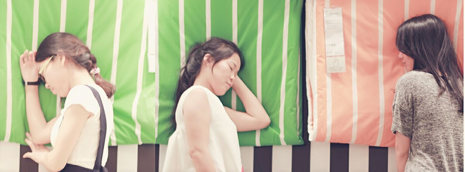 have a sweet dream… Summer2015 Enjoying With My Friends  Youth Relaxing Photography Color Portrait