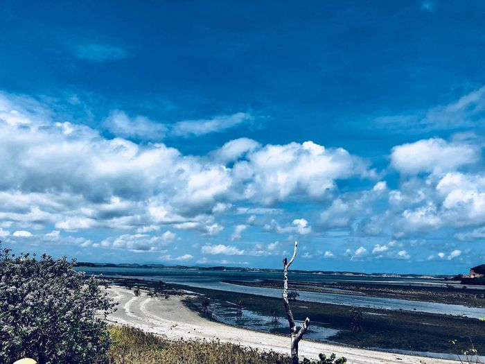 Cloud - Sky Sky Water Beauty In Nature Sea Scenics - Nature Blue Nature Beach No People Day