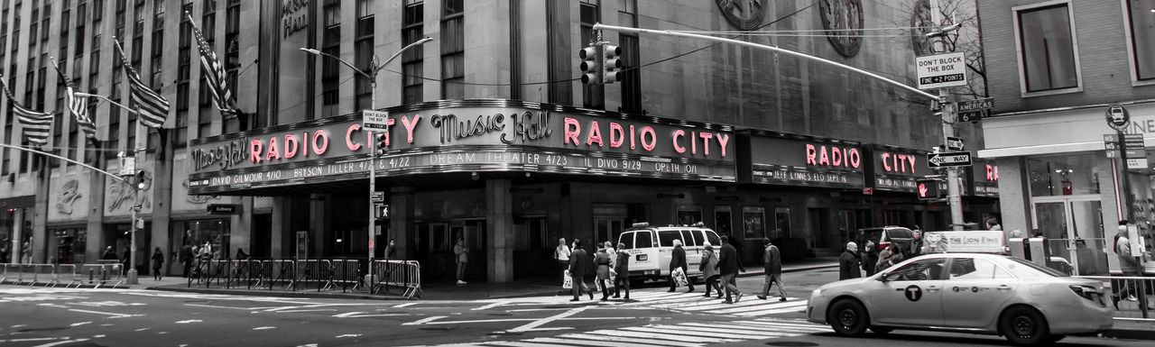 Architecture Building Exterior Colourkey Downtown District Manhattan New York City Radio City Music Hall Radiocitymusichall Travel Destinations