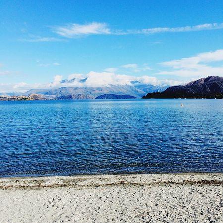 Lake Snow Mountain New Zealand New Zealand Natural Wonderful