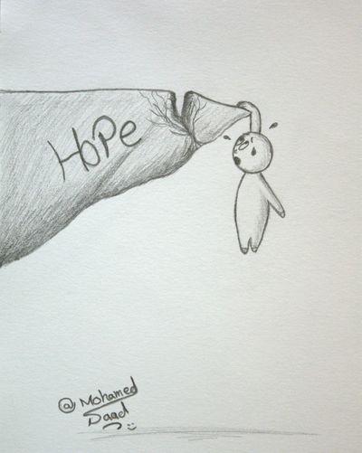 Losing Hope Art, Drawing, Creativity Drawing