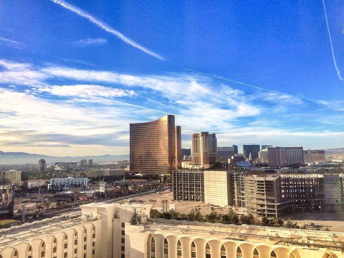 Las Vegas Circus Circus Skyline View