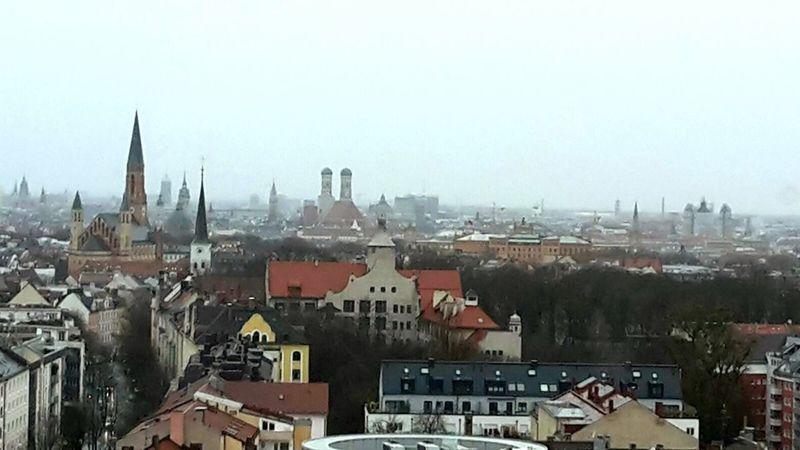 Open Edit Cityscape Skyline Munich München
