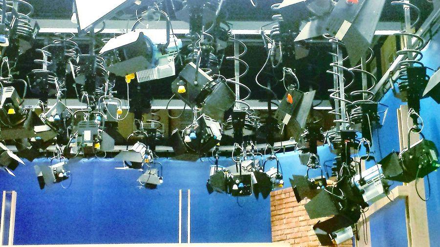 Studio Design Ladyphotographerofthemonth NDR (Northern German Public Broadcasting Studios) Television Studio Blick Hinter Die Kulissen NDR Fernsehstudio Hannover Day Indoors  No People NDR Studio Interesting Places Indoors  Studiolampen Technical Studio Equipment Studio Lamps Business Stories