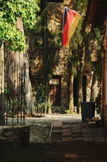 Val'Quirico, Tlaxcala, Puebla. Sunlight No People Tree Outdoors Architecture Day Patriotism Germanspace Colonial Style Buildings Colonial Architecture Colonia Paradise On Earth Relaxing Tranquility Travel Destinations Outdoors Relaxation Travel Destination Travel Destinations