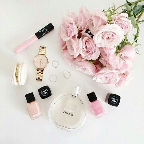🌸Love 💕 pure pink 🌸🌸 💄Chanel NARS Pure Purepink makeup make flower chance chancechanel
