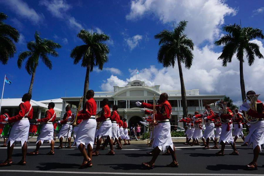 Art Is Everywhere Large Group Of People Cloud - Sky People Streetphotography Street Photography Travel Destinations Travel SUVA FIJI ISLANDS Pacific Ocean Celebration The Photojournalist - 2017 EyeEm Awards