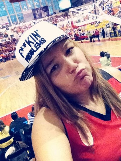 Basketball Game Cheering Like A Boss F**kin' Problems... ?