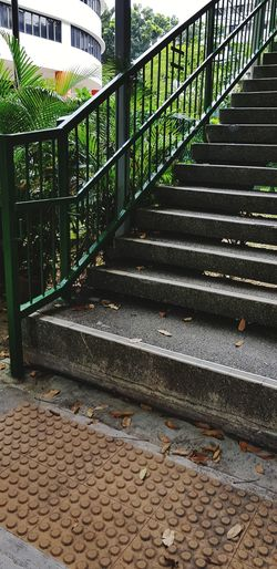 Steps And Staircases Railing Steps Barbed Wire Hand Rail Stairs Staircase Paving Stone Tiled Wall