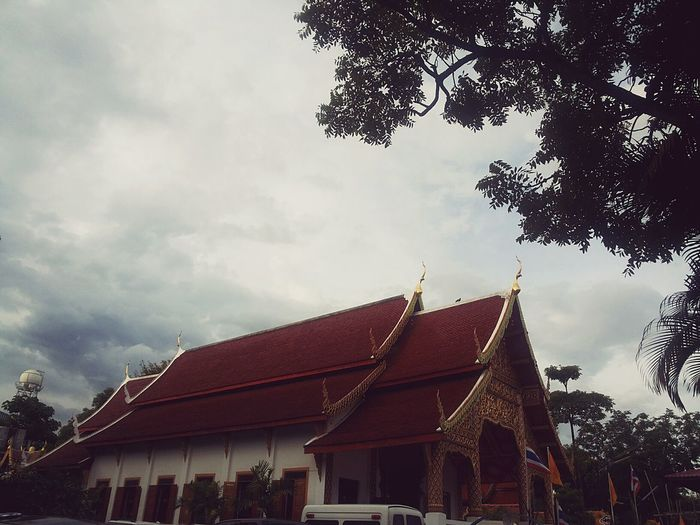 Buddhist Temple Natural In Chiangmai Thailand
