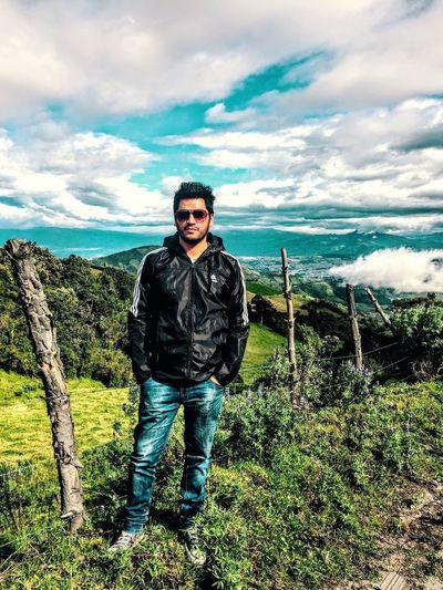 A las faldas del Volcán Pichincha En Ecuador