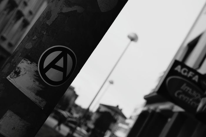 Anarchy Anarchist Anarchism Oulu Oulunlääni Finland First Eyeem Photo Blackandwhite Nikond5300 Blackandwhite Photography Nikonphotography Punxnotdead Punx Punk Punkrock