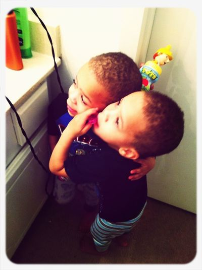 My to baby twins luv these kids so much ahaha