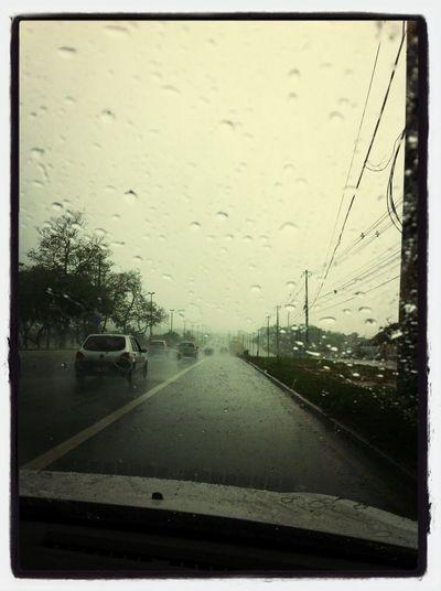 Sentido Lauro ta complicado, chuva retada ! Rsss Nature