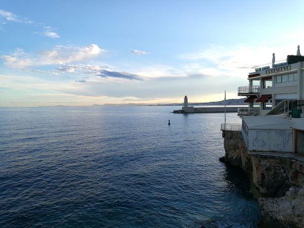Nice Côte D'Azur After The Rain Lighthouse Sea Sea And Sky