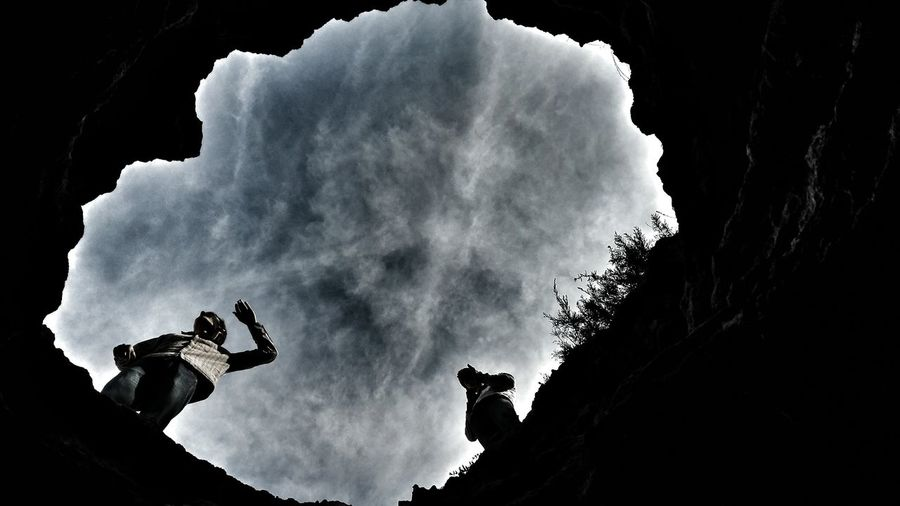 Abstract Cave Travel Photography Beach Ocean Darkness And Light Hanging Out Cover Picture Weird Angle Low Shots